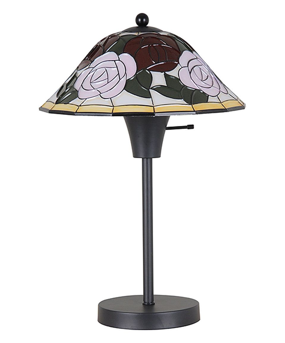 Love this Black Floral Table Lamp by Catalina Lighting on #zulily! #zulilyfinds