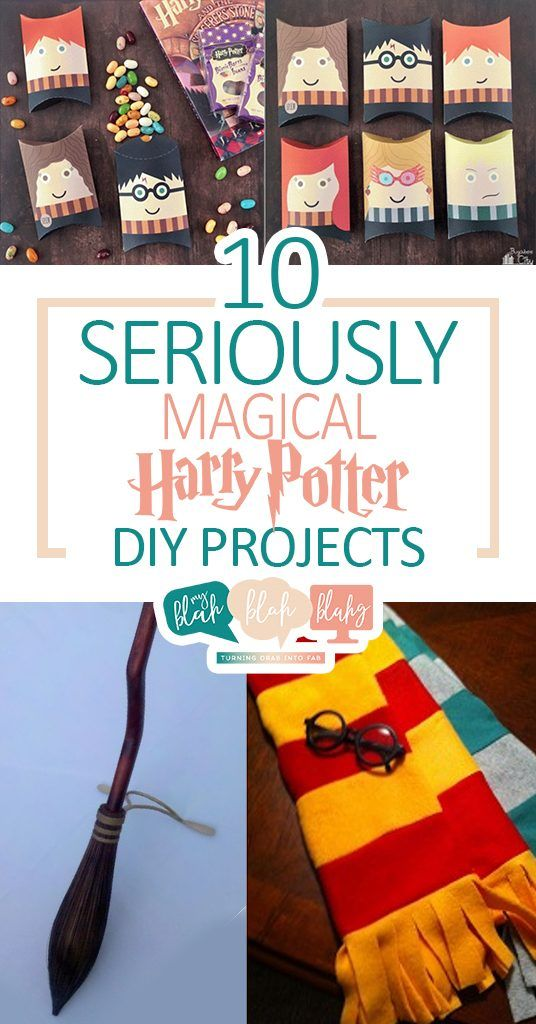 10 Siriusly Magical Harry Potter Diy Projects Harry