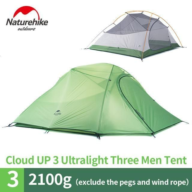 3 Person Lightweight C&ing Tent Outdoor Hiking Backpacking Ultralight Waterproof 3 Man Best Family C&ing Tent  sc 1 st  Pinterest & 3 Person Lightweight Camping Tent Outdoor Hiking Backpacking ...