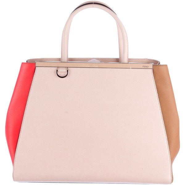 Fendi Pre-owned - Pink Leather Handbag 2jours