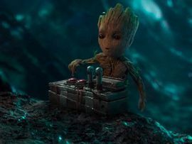'Guardians of the Galaxy Vol. 2' trailer features so much Baby Groot     - CNET  Enlarge Image  Baby Groot about to bark up the wrong tree. Photo by                                            Marvel Studios (screenshot by CNET)                                          Now whatever you do dont push this button says Rocket to a totally-understanding-not-at-all-and-about-to-blow-up-the-team Baby Groot.  The new trailer for Guardians of the Galaxy Vol. 2 (embedded below) proves that just like…