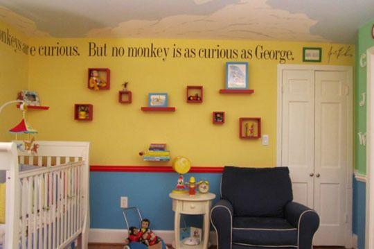 The Curious George Nursery Theme