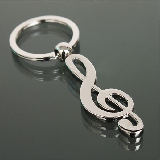 Musical Chains Jewelry Accessories New Chain Keychains Music Symbol