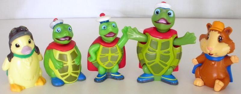 Five Collectible Wonder Pets Figures Ming Ming Tucks Linny Wonder Pets Pets Kids Toys