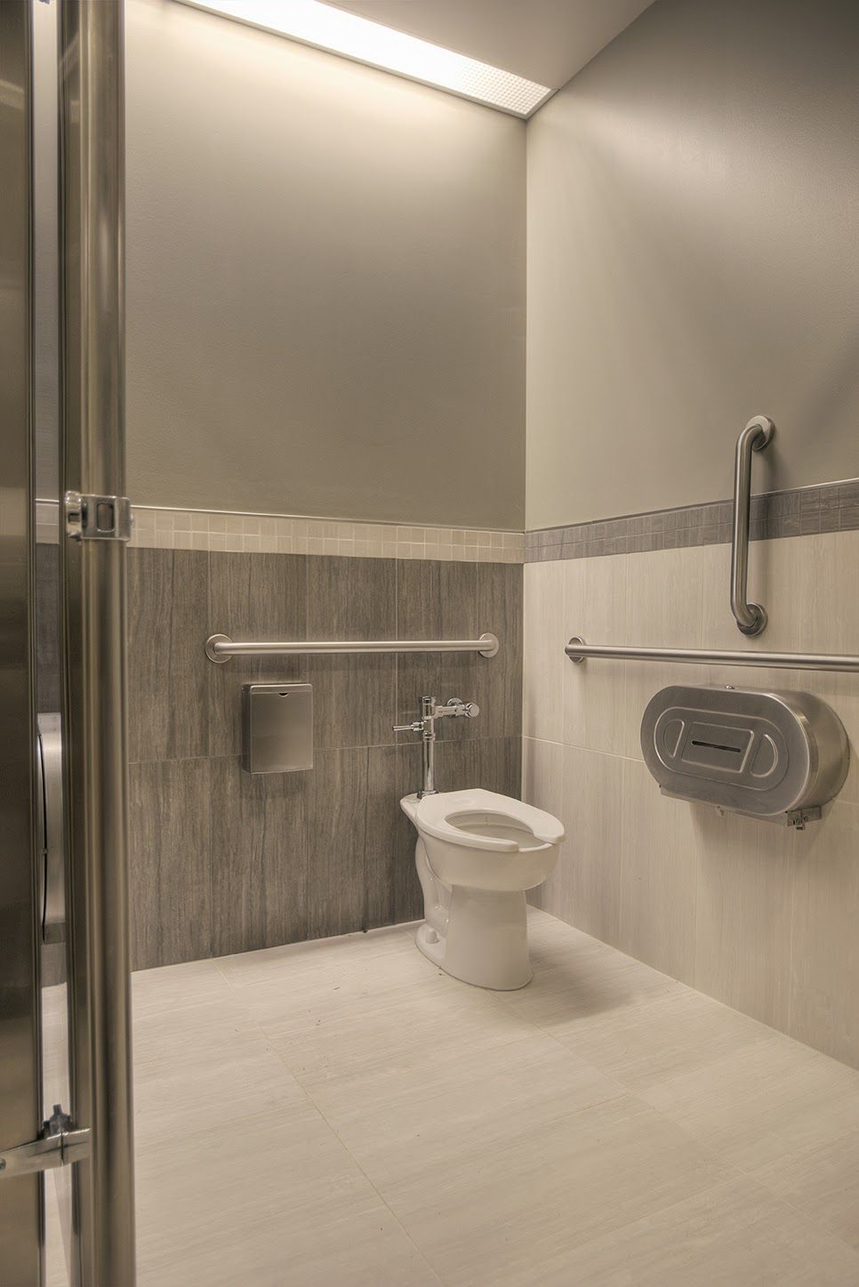 duel color restroom commercial bathroom ideas restroom on commercial office colors for walls id=77177
