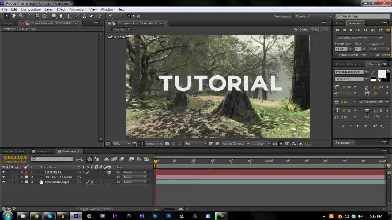 2d Motion Tracking Tutorial Adobe After Effects Cs6 Adobe