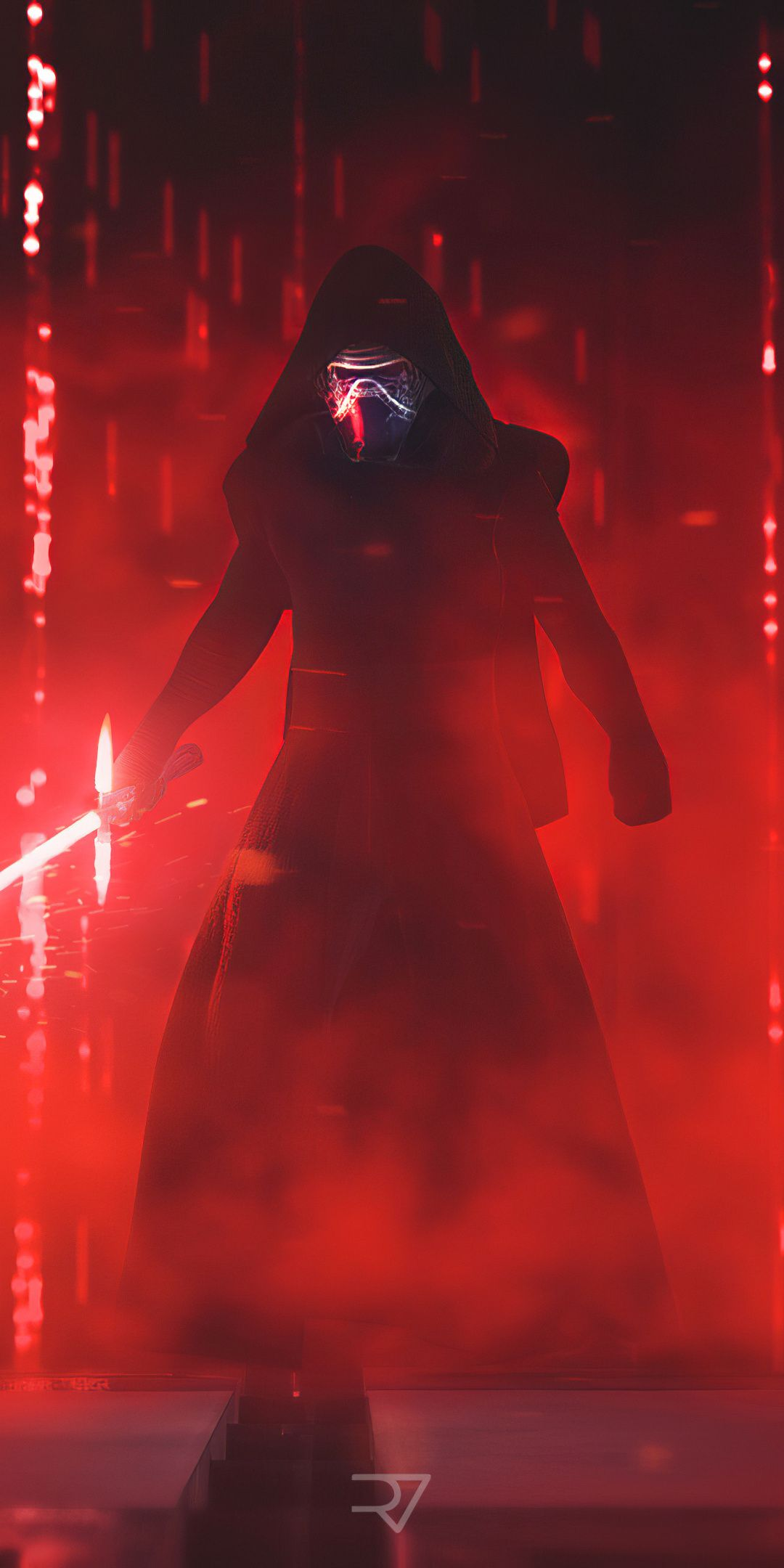 1080x2160 Kylo Ren Villain Star Wars Movie 2019 Wallpaper In 2020 Star Wars Background Star Wars Images Star Wars Wallpaper