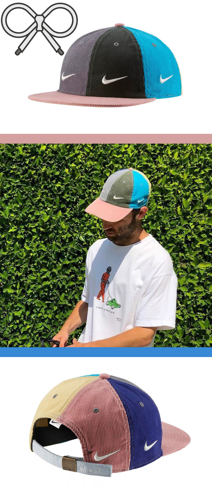 09b6a4774c Multi-colored Nike hat designed by Sean Wotherspoon. | Hats & Other ...