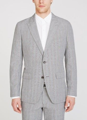 Bonobos Foundation Grey Slim Suit Jacket Ten for the Weekend: Duds for Dudes, Awesome Flasks and Sales to Make You Squee!