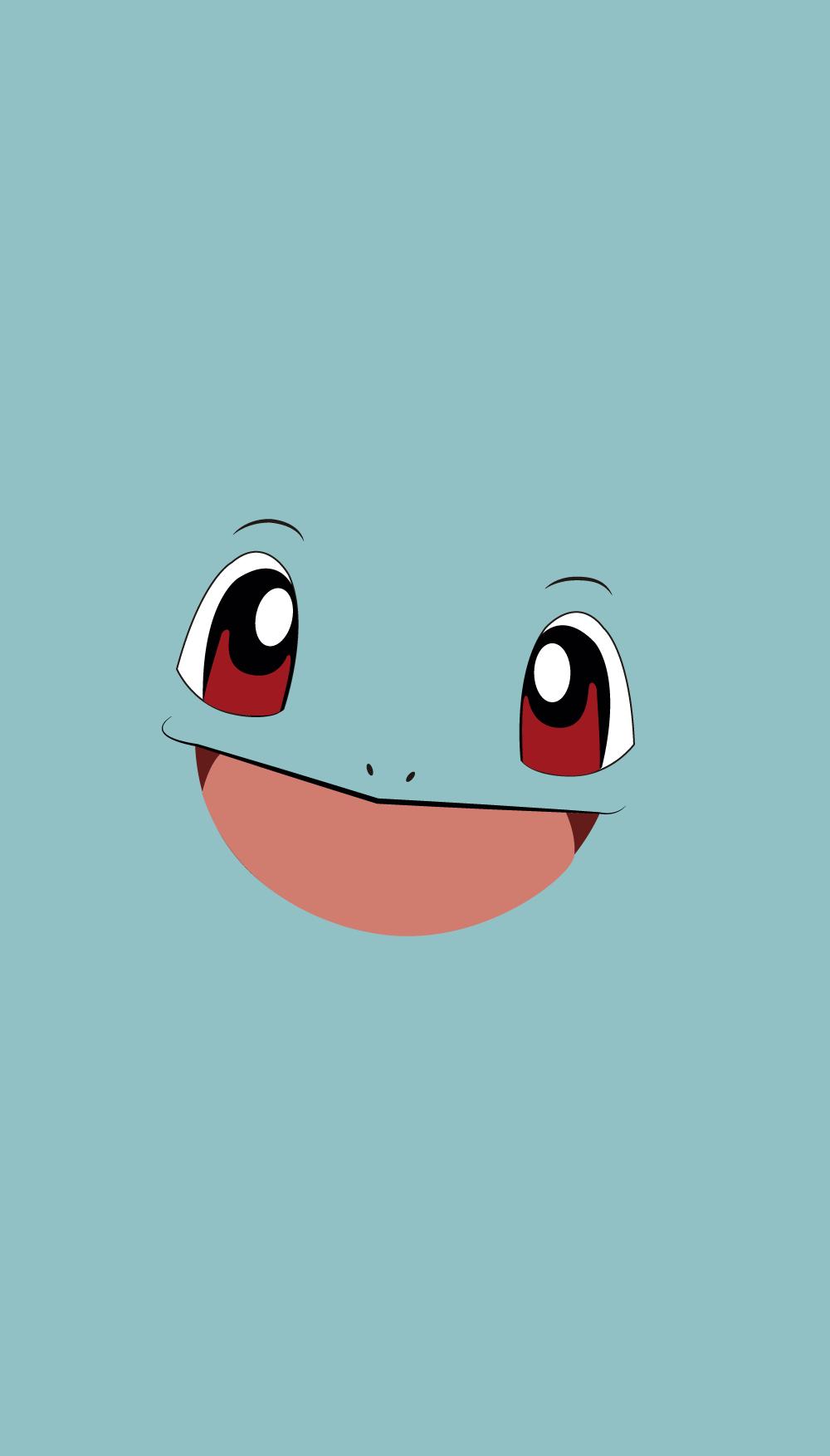 pokemon walpaper squirtle | ポケモン ミニマリスト | pinterest