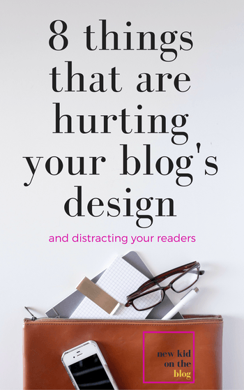 Whether you're trying to set your blog up for the first time, or trying to revamp the blog you've had for a while because you know it's missing out on some of it's potential, this post is for you. Read through these common mistakes that bloggers make with their blog layout and design and see if you can encourage readers to stick around, click around, and fall madly in love with your professional-looking website!