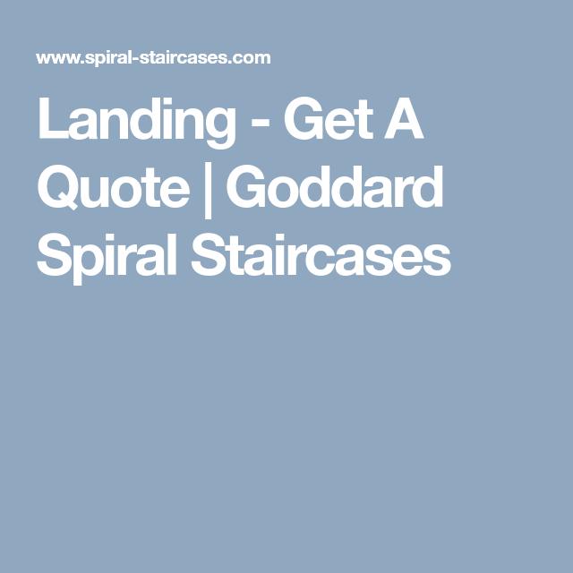 Best Landing Get A Quote Goddard Spiral Staircases Spiral 400 x 300