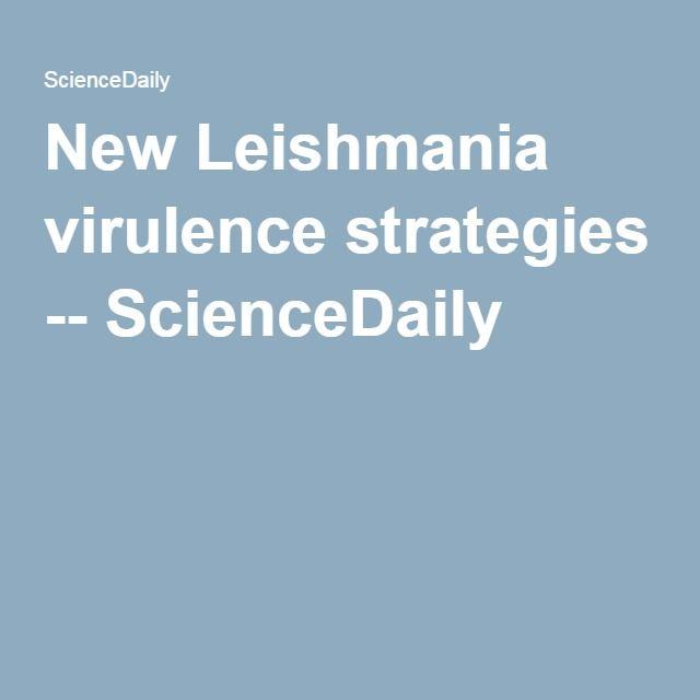 New leishmania virulence strategies microbiology microbiology fandeluxe Choice Image