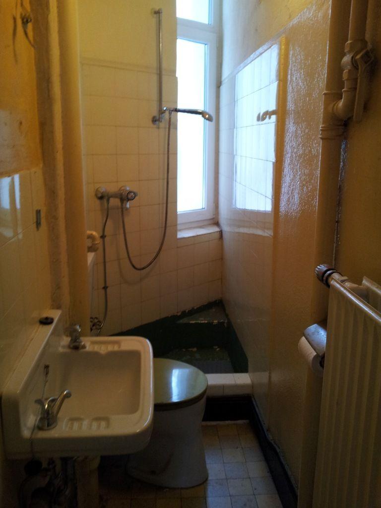 Vorher aus dem alten duschbad wird ein g stewc for Immobilienmakler wohnung mieten