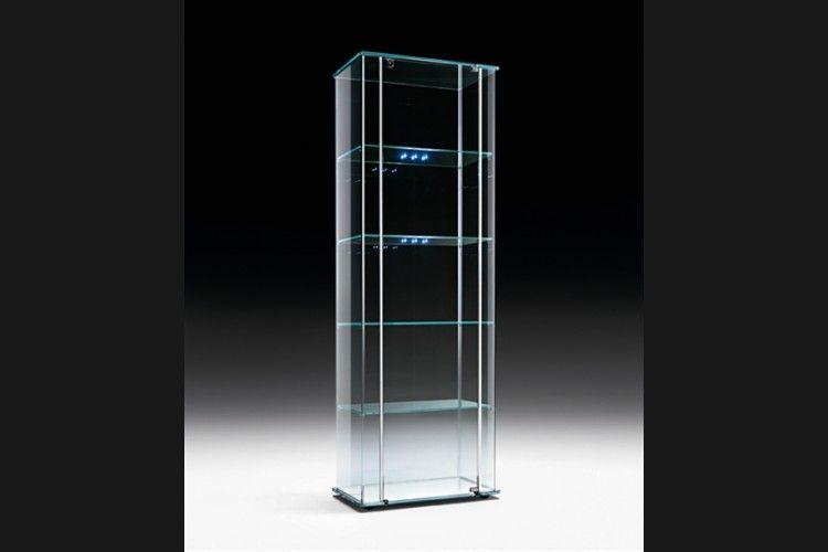 GlazenDesignTafel.nl   FIAM glazen vitrine Milo Day, ontworpen door ...