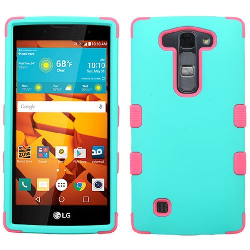 Insten Tuff Hard PC/ Silicone Dual Layer Hybrid Rubberized Matte Case Cover For LG Magna/ Volt 2 #2165217