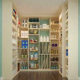 Contemporary Kitchen by Closet Factory