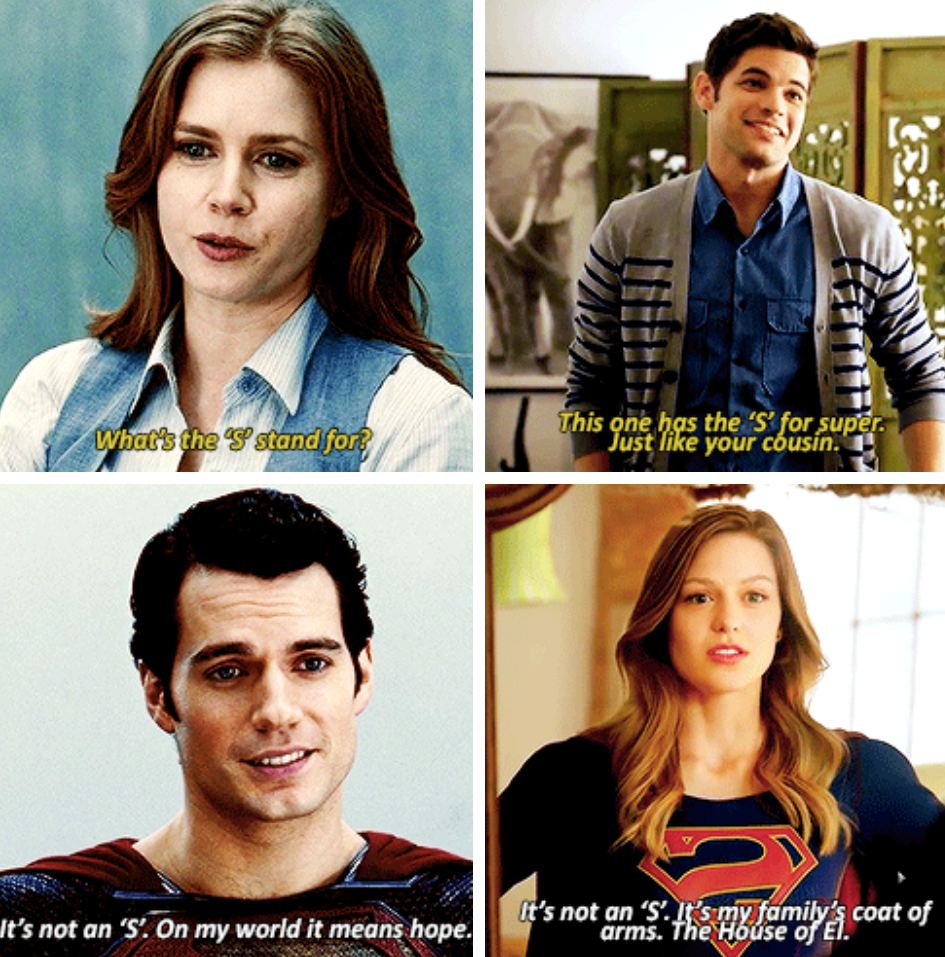 Man Of Steel Quotes: #Supergirl // Man Of Steel Parallel's