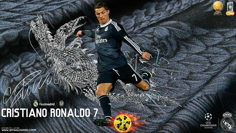 2015 Football Soccer FIFA CR7 Cristiano Ronaldo Real Madrid Ballon Dor