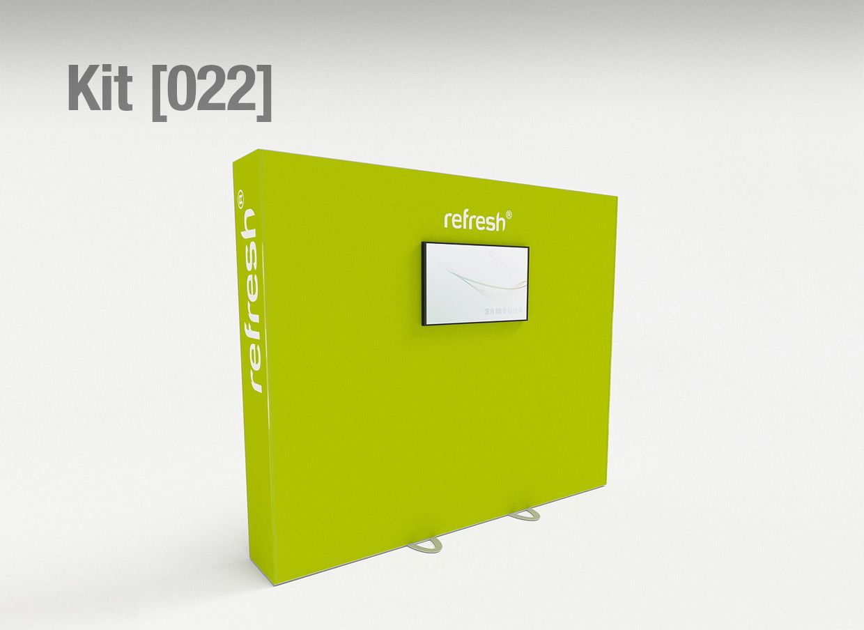 Kit Gmbh refresh kit 022 messewand für monitor anbringung clip gmbh