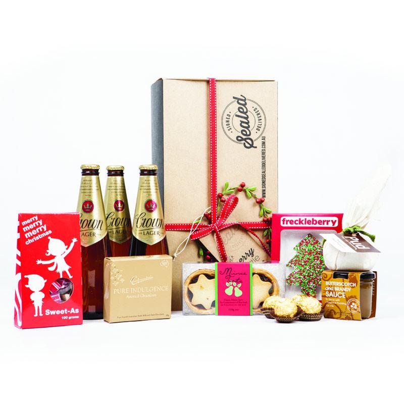 Three Wise Men - Christmas gift hamper wwwsignedsealeddelivered