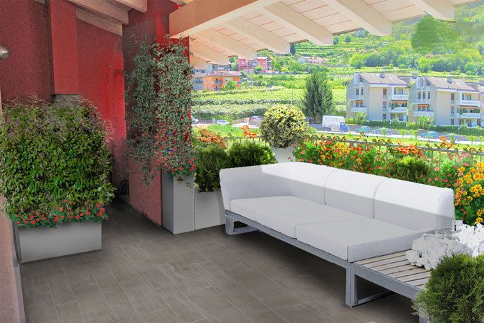 Progetto terrazzo in montagna   PROGETTI di GIARDINI e TERRAZZI ...