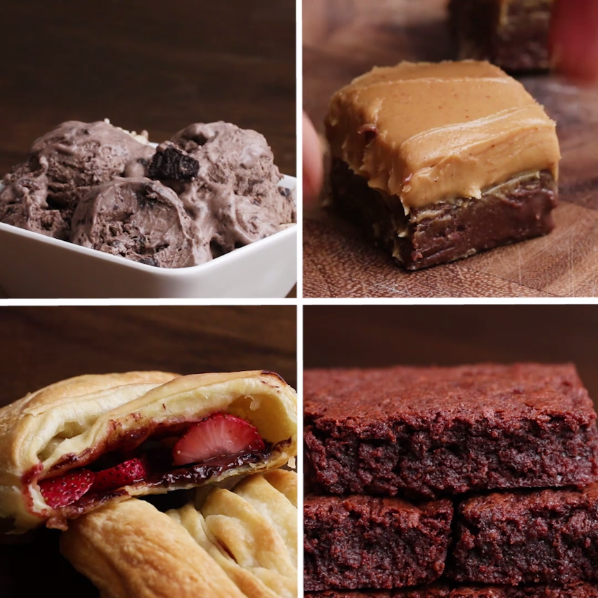 3-Ingredient Chocolate Desserts