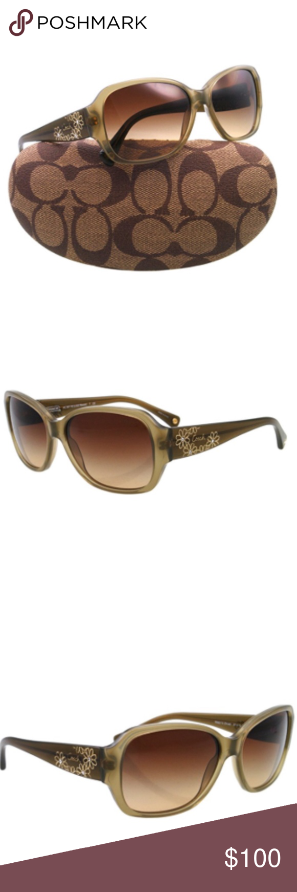16411dce15b ... official store coach olive reese sunglasses 0c5c4 8dfc7 ...