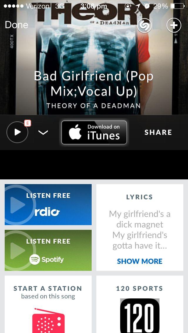 Bad girlfriend