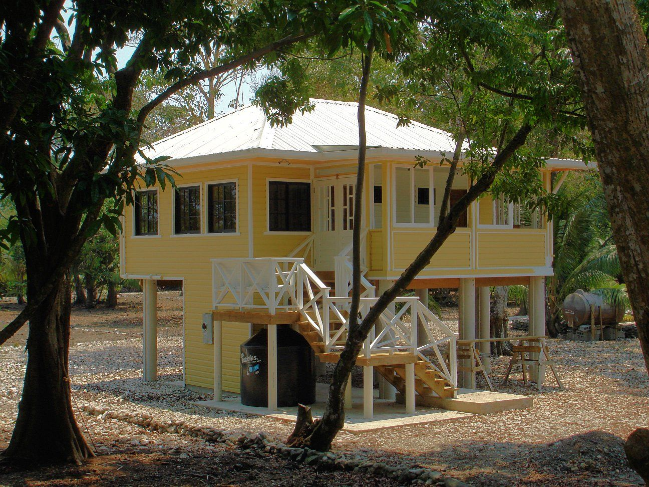 Caribbean style architecture plans house