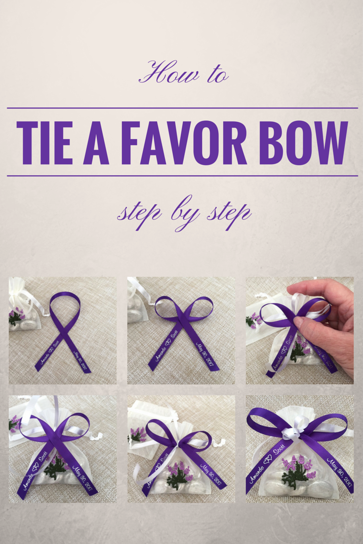 How To Tie A Perfect Bow With Favor Ribbon Simple Step By