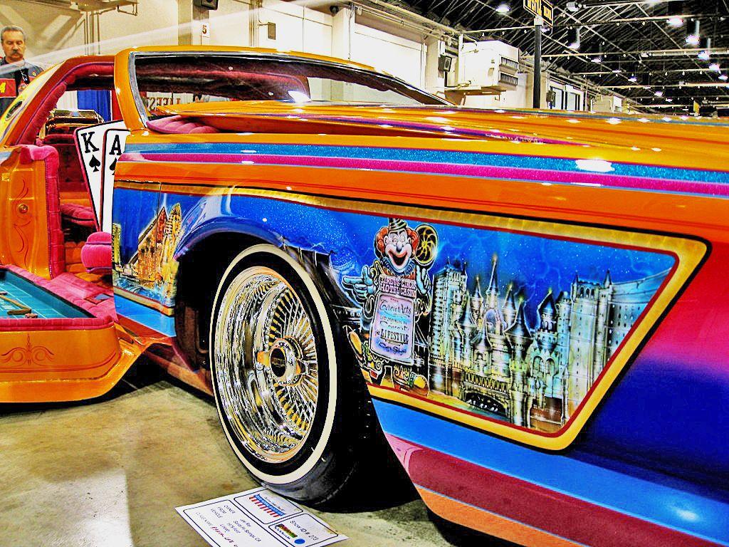 Custom Paint Lowrider: Lifestyle Car Club - Las Vegas