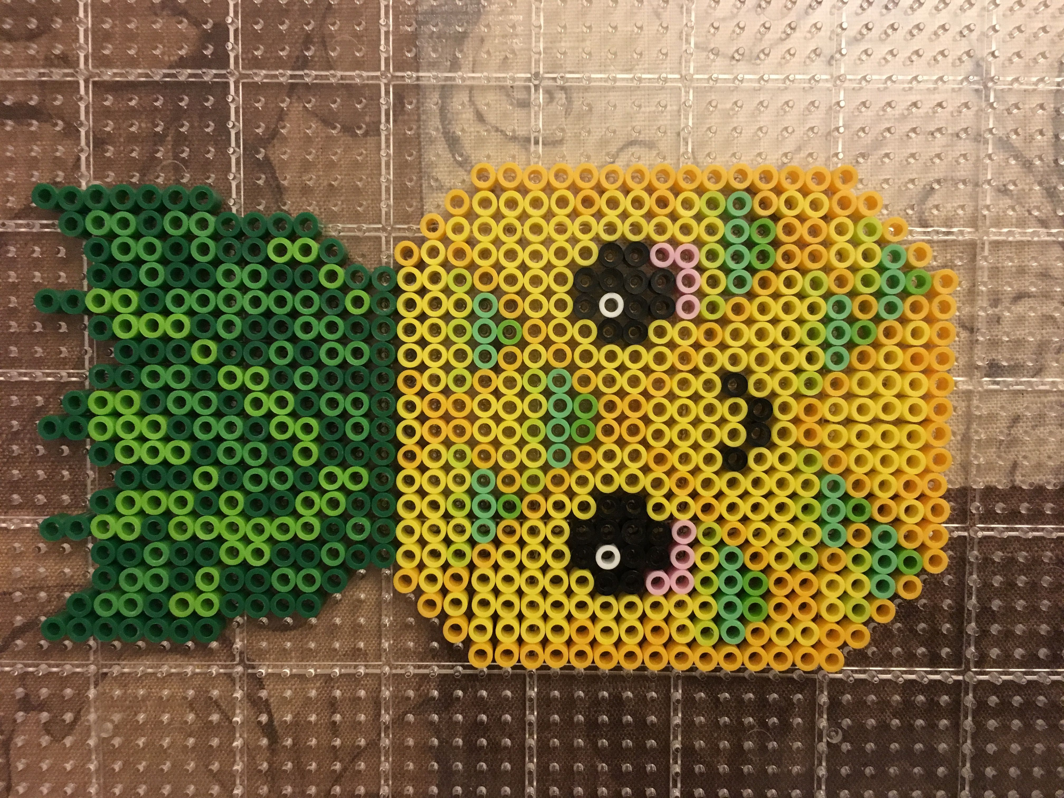 Kawaii Pineapple Perler Beads By Nigora Hama Beads