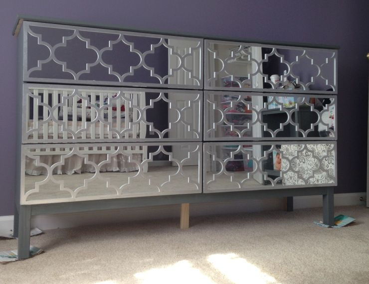 IKEA Hack Mirrored Dresser Dresser And Jasmine - Beautiful diy ikea mirrors hacks to try