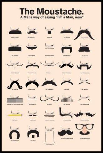 Other Names For Mustache : other, names, mustache, Moustache', Prints, AllPosters.com, Mustache, Styles,, Moustache,, Beard