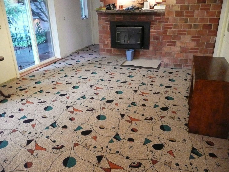 Fun floor tiles for kids play room. Interior Floor Designs