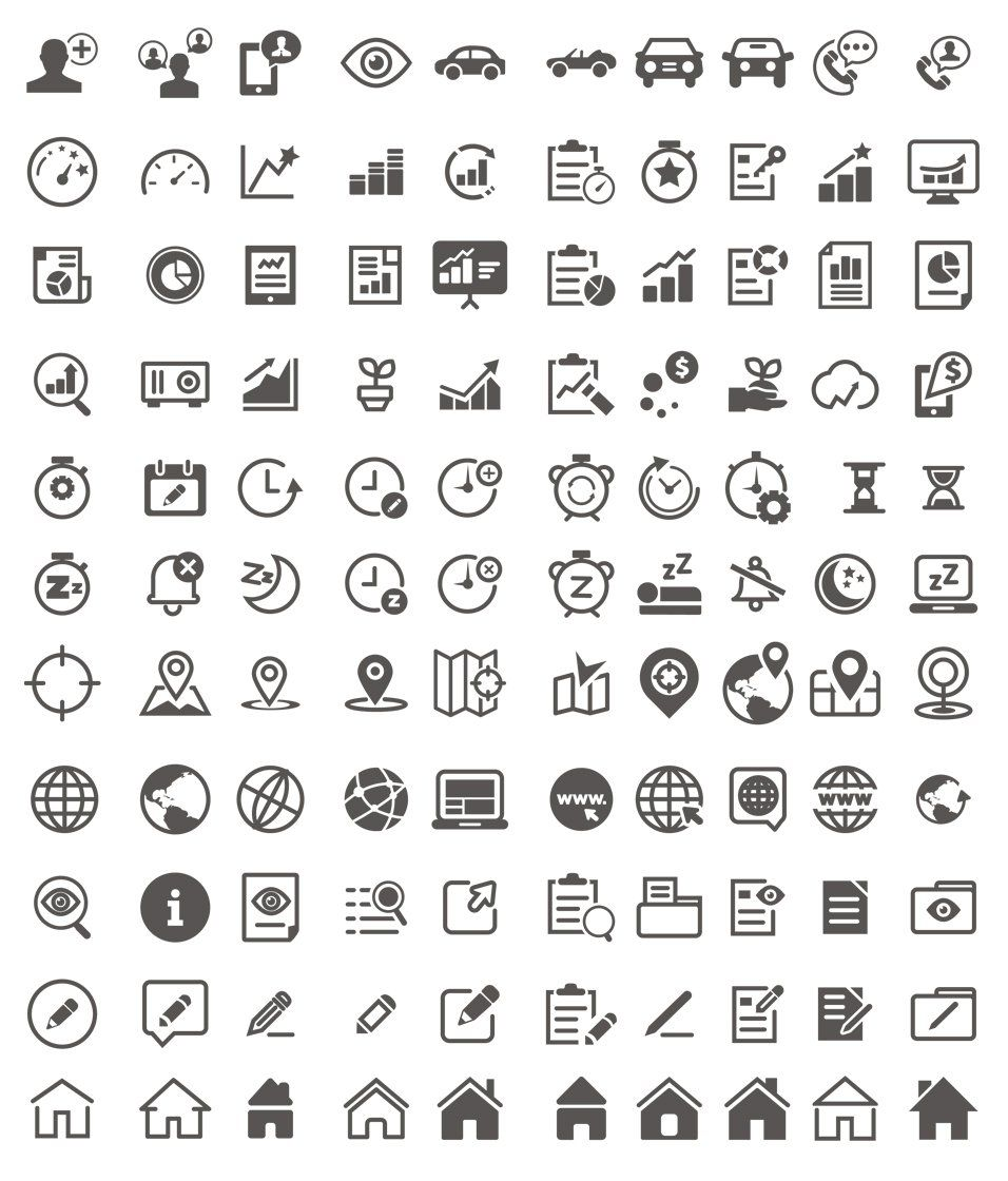 60+ Free Line Icon Sets › Free Icons (With images) Free