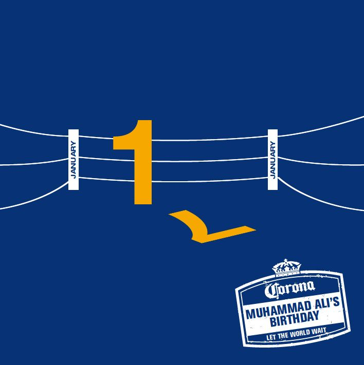Today we celebrate the greatest of all time. Grab your mates, some Coronas and watch this legends greatest matches. Courtesy of Corona and 365 Reasons to let the world wait. #Corona #Asia #Muhammad Ali #Boxing #Legends #365Reasons2lettheworldwait