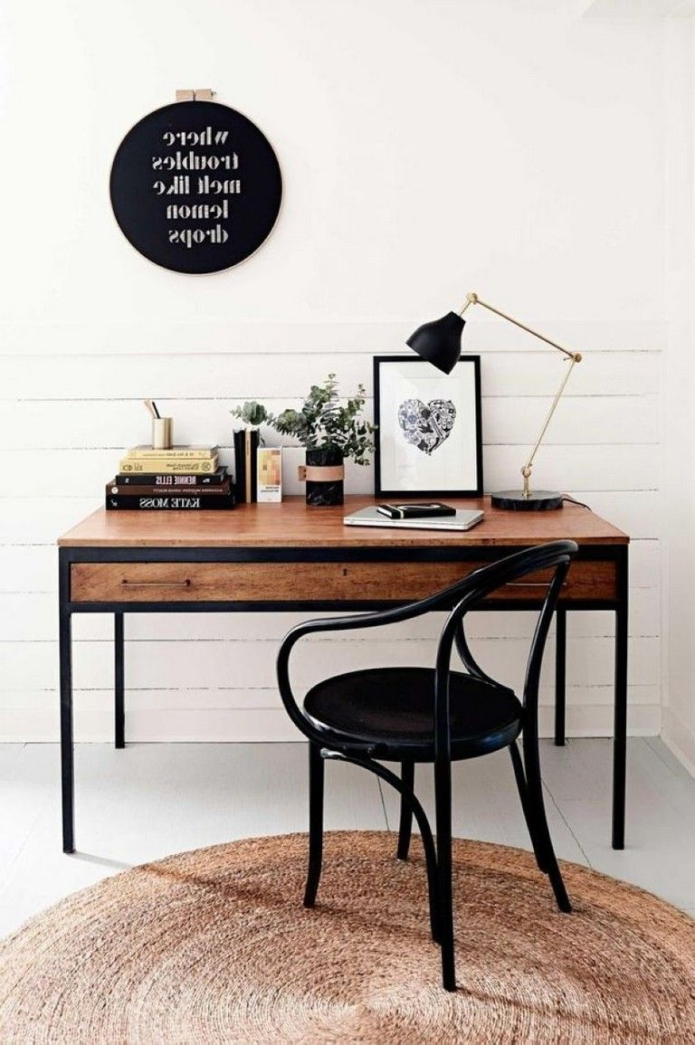45 Best Wall Art Decor For Beautiful Home Office Modern Home Office Home Office Design Dream Decor