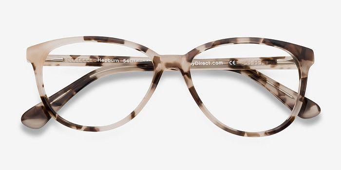 03da458b403c65 Hepburn   Ivoire  Ecaille   Femme Acétate Lunettes de Vue   EyeBuyDirect  Espejuelos, Lentes