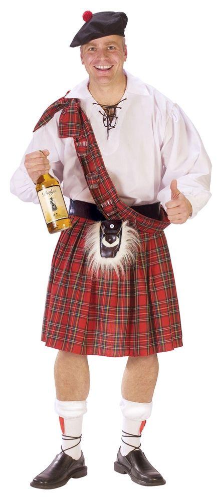Big Shot Scottish Costume Price $3999 Men\u0027s Costumes Pinterest