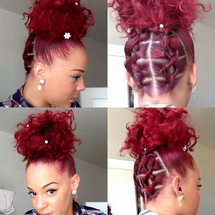 A tester | Afro hairstyles | Pinterest | Natural, Hair style and ...