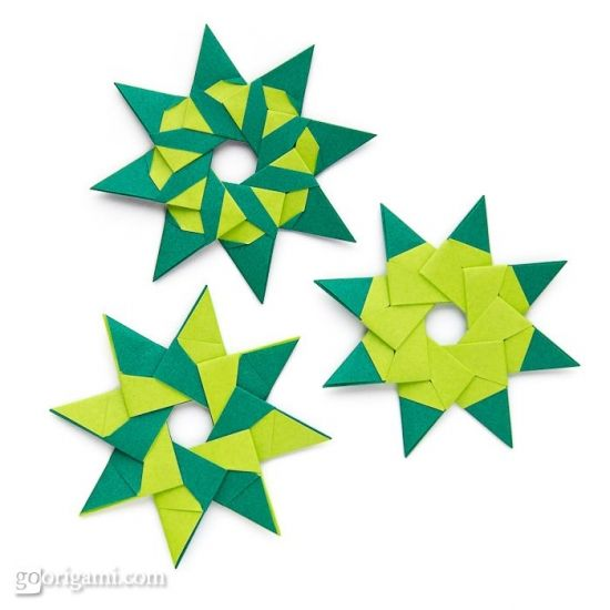 8 Pointed Origami Stars Projects To Try Pinterest Origami
