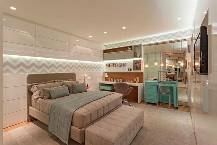 Quartos Lindos ~ Decoraç u00e3o de quartos para moças blogueiras veja modelos lindos e modernos!  se essa casa