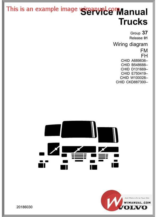 volvo truck fm fh wiring diagram chid b 548688 is the perfect rh pinterest com