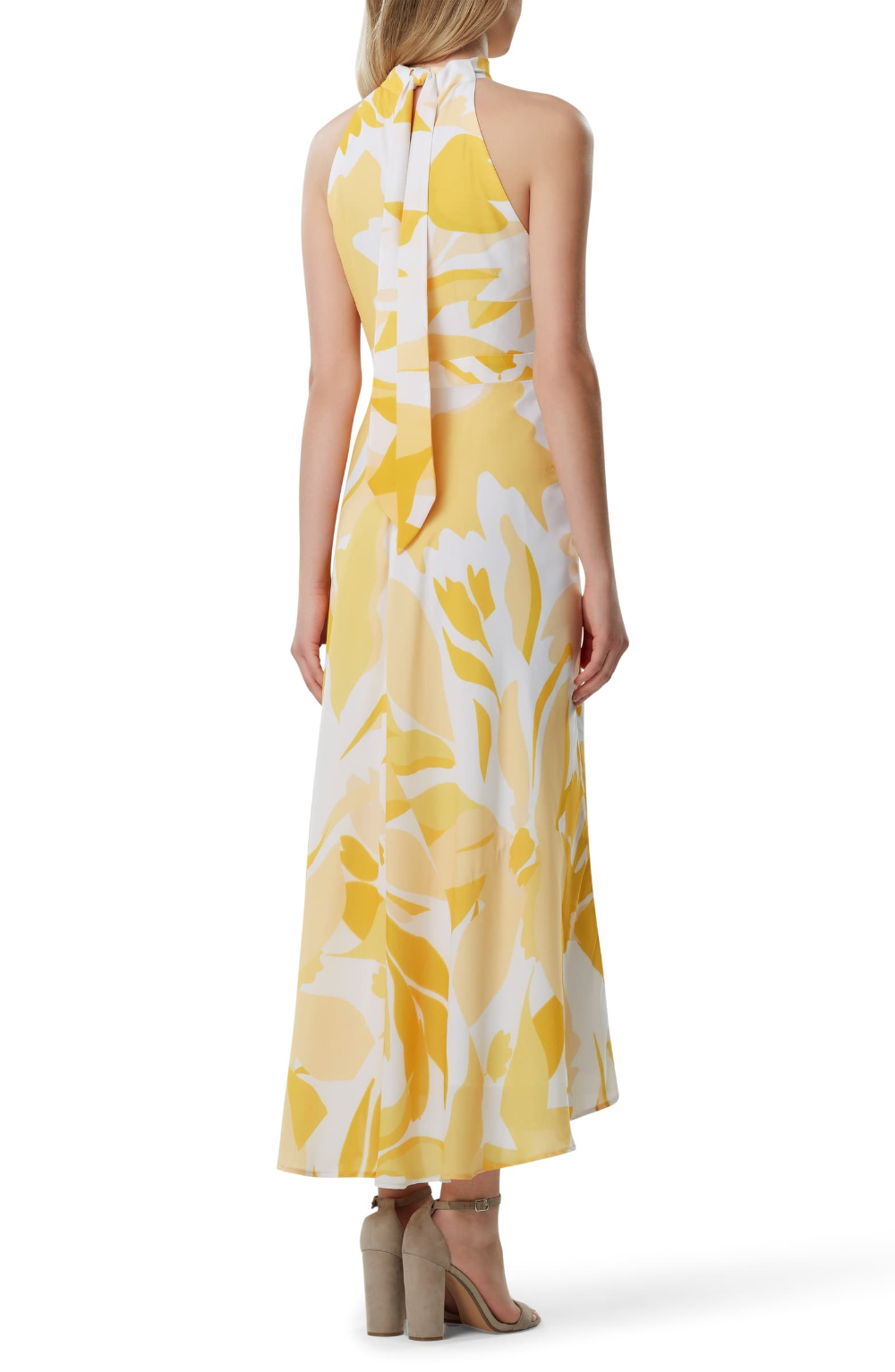 Tahari Printed Halter Maxi Dress Nordstrom Maxi Dress Dresses Printed Maxi Dress [ 1533 x 1000 Pixel ]