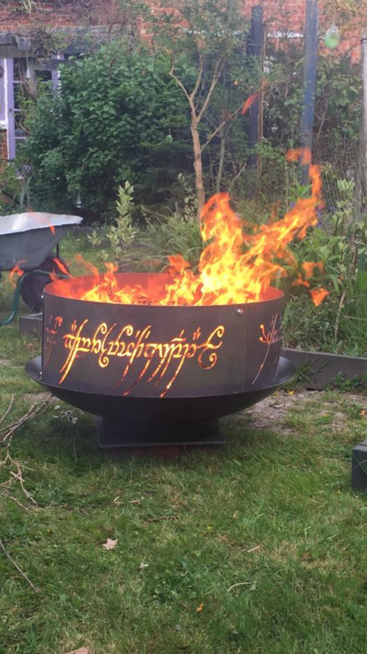 You Design Fire Ring Or Custom Fire Ring Customized Design Pit Firepit Outdoor Fire Place Gift For Camper Campground Anniversary Fire Pit Ring Fire Ring Gifts For Campers