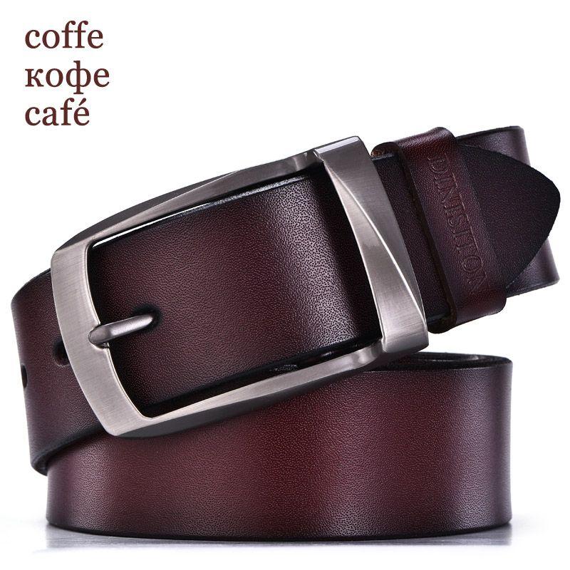 DINISITON designer ceintures hommes de haute qualité ceinture en cuir  véritable homme de mode sangle mâle peau de vache ceintures pour hommes  jeans vache en ... 6e91c5caa21
