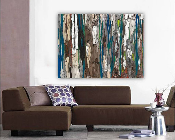 Oversized Masculine Extra Large Wall Art Canvas Bedroom Artwork