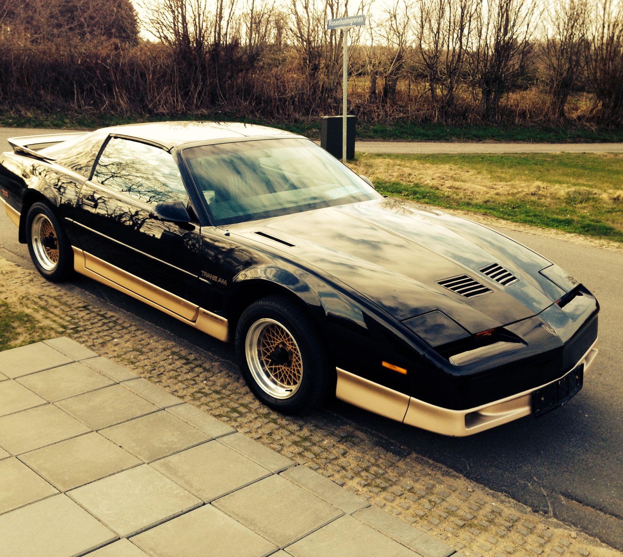 1987 Pontiac Firebird Trans Am Black/Gold edition